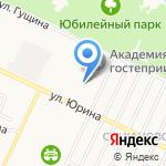 Алтайский транспортный техникум на карте Барнаула