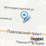 Мастерская аргонной сварки на карте Барнаула