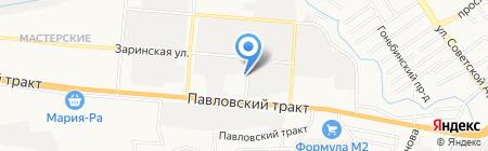 Магазин автозапчастей для Волга Газель на карте Барнаула