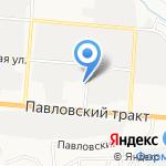 Гарпи Игол на карте Барнаула