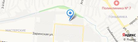 Ситигаз на карте Барнаула