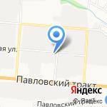 Автостиль на карте Барнаула