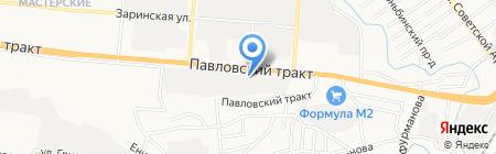 Лига сварщиков на карте Барнаула