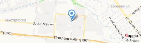 Стекло Строй на карте Барнаула