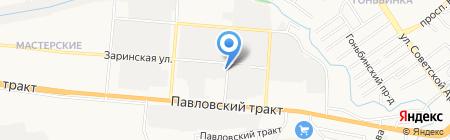 Автомастер на карте Барнаула
