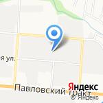 Ком-авто на карте Барнаула