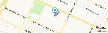 Союзлифтмонтаж на карте Барнаула