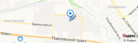 Малярный рай на карте Барнаула