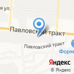 PROblesk на карте Барнаула