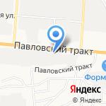 Дизель`ОК на карте Барнаула