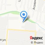 АРТПРОФИ на карте Барнаула