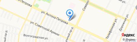 Пивторг №1 на карте Барнаула