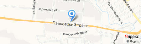 Фирменный магазин на карте Барнаула