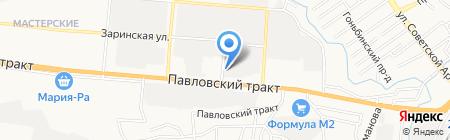 АвтоЛето на карте Барнаула