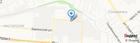 АлтайТеплоСервис на карте Барнаула