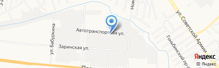 Комацу-Форклифт на карте Барнаула