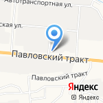 Автолидер на карте Барнаула
