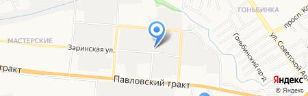 Автозапчасти кузовщина бампера на карте Барнаула