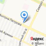 Мастер-А-сервис на карте Барнаула