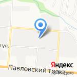 ФрутоГуд на карте Барнаула