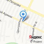 Наина на карте Барнаула