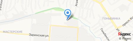 ЛЕНАТ на карте Барнаула