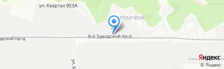 Магазин №2 на карте Барнаула
