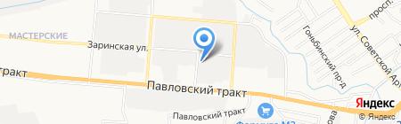 Ваше Право на карте Барнаула