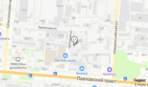 Крепкий орешек. Схема проезда в Барнауле