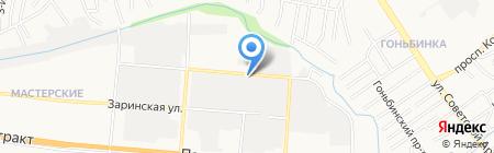 Алтайский врачебно-физкультурный диспансер на карте Барнаула