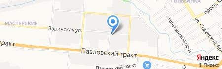 АвтоМАКСИМУМ на карте Барнаула
