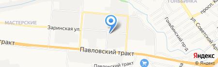 Абро-ак на карте Барнаула