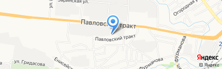 Продмарко Алтай на карте Барнаула