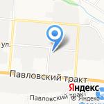 АБРО Мастер на карте Барнаула
