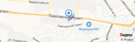 Kontora на карте Барнаула