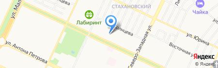 Алтайэнергопромстрой на карте Барнаула