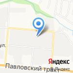 Электроагрегат на карте Барнаула