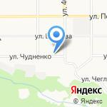 БАНКА на карте Барнаула