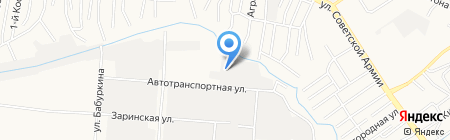 ЛТиК на карте Барнаула
