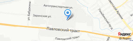 Металл Мастер Сервис на карте Барнаула