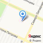 Детская городская клиническая больница №7 на карте Барнаула