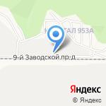 Агора на карте Барнаула