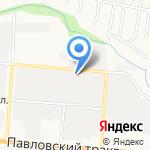 РОСА на карте Барнаула