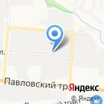 Авто Страж на карте Барнаула