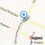Почтовое отделение №39 на карте Барнаула