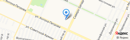 Детский сад №146 на карте Барнаула