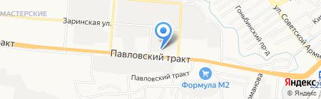 Мастерская по изготовлению ключей и авточипов на карте Барнаула