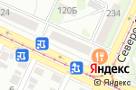 Схема проезда до компании Семь новостей в Барнауле