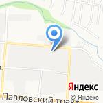 Фортуна-Алтай на карте Барнаула