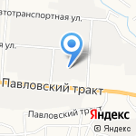 Сальва на карте Барнаула